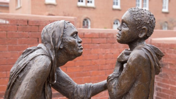 Mary & Elizabeth Sculpture
